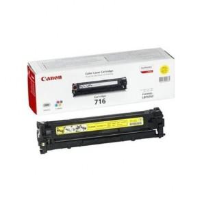CRG-716Y Lézertoner i-SENSYS LBP 5050 nyomtatóhoz, CANON sárga, 1,5k