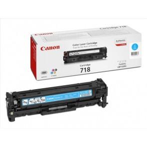 CRG-718C Lézertoner i-SENSYS LBP 7200CDN, MF 8330, 8350CDN nyomtatókhoz, CANON, cián, 2,9k