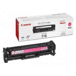 CRG-718M Lézertoner i-SENSYS LBP 7200CDN, MF 8330, 8350CDN nyomtatókhoz, CANON, magenta, 2,9k