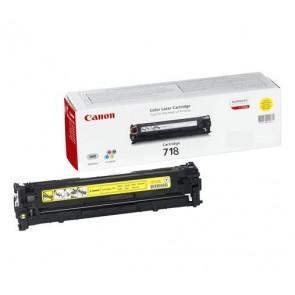 CRG-718Y Lézertoner i-SENSYS LBP 7200CDN, MF 8330, 8350CDN nyomtatókhoz, CANON, sárga, 2,9k