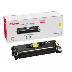 EP-701Y Lézertoner Laser Shot LBP 5200, i-SENSYS MF8180C nyomtatókhoz, CANON sárga, 4k