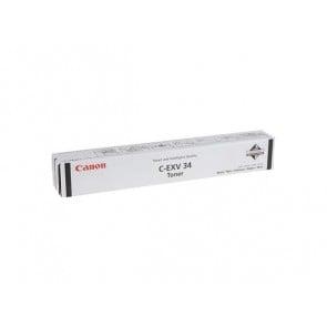 C-EXV34B Fénymásolótoner IR ADVENCE C2020, 2030 fénymásolókhoz, CANON fekete, 23k