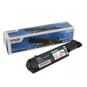 S050190 Lézertoner Aculaser C1100, CX11N nyomtatókhoz, EPSON fekete, 4k