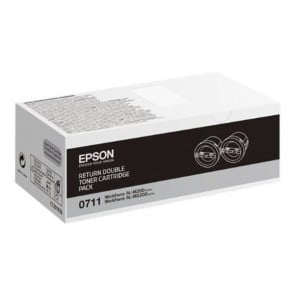 C13S050711 Lézertoner AL-M200, MX200 nyomtatóhoz, EPSON fekete, 2*2,5K