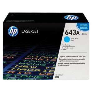 Q5951A Lézertoner ColorLaserJet 4700 nyomtatóhoz, HP 643A kék, 10k