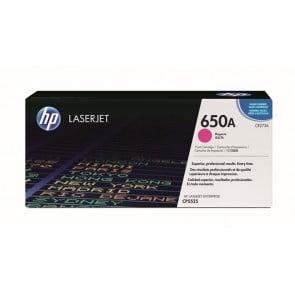 CE273A Lézertoner ColorLaserJet CP5525 nyomtatóhoz, HP 650A vörös, 15k