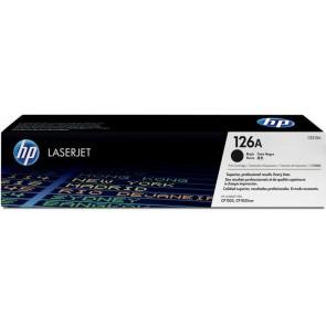 CE310A Lézertoner ColorLaserJet Pro CP1025 nyomtatóhoz, HP 126A fekete, 1,2k