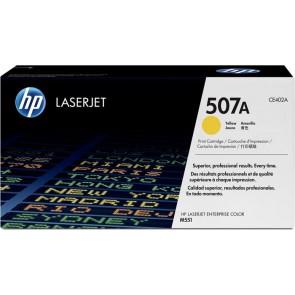 CE402A Lézertoner LaserJet M551 nyomtatóhoz, HP 507A sárga, 6k