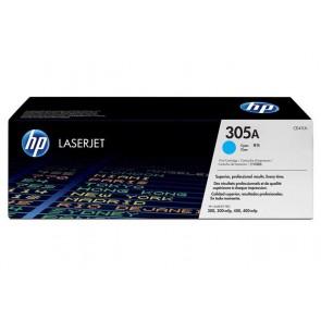 CE411A Lézertoner LaserJet Pro 300 MFP M375 nyomtatóhoz, HP 305A, cián, 2,6k