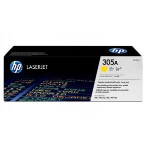 CE412A Lézertoner LaserJet Pro 300 MFP M375 nyomtatóhoz, HP 305A, sárga, 2,6k