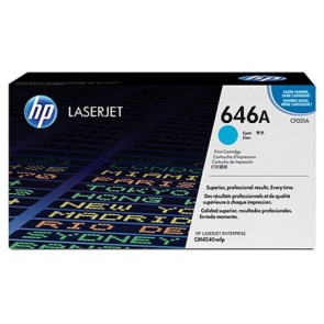 CF031A Lézertoner ColorLaserJet Pro CM4540 nyomtatóhoz, HP 646A kék, 12,5k