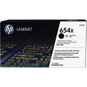 CF330X Lézertoner Color LaserJet Enterprise M651 nyomtatóhoz, HP 654X fekete, 20,5k