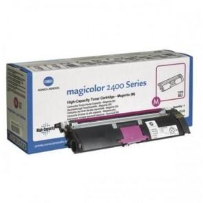 1710-589-006 Lézertoner Magicolor 2400w, 2480MF nyomtatókhoz, KONICA-MINOLTA, magenta, 4,5k
