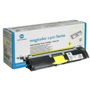 1710-589-005 Lézertoner Magicolor 2400w, 2480MF nyomtatókhoz, KONICA-MINOLTA, sárga, 4,5k