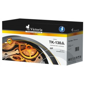 TK130 Lézertoner FS 1028DP MFP, 1300D nyomtatóhoz, VICTORIA fekete, 7,2k