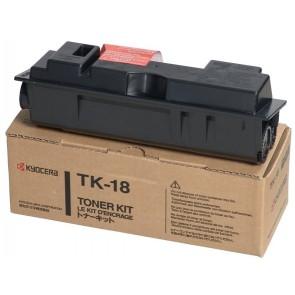 TK18 Lézertoner FS 1020, 1118MFP nyomtatókhoz, KYOCERA, fekete, 7,2k