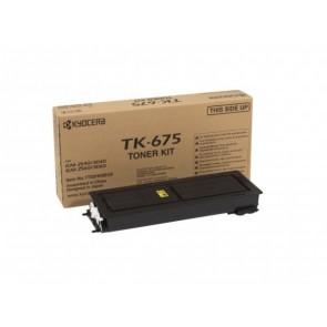 TK675 Fénymásolótoner KM 2560, 3060 fénymásolókhoz, KYOCERA-MITA fekete, 20k