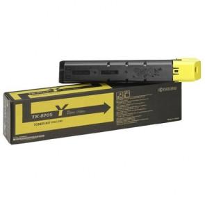 TK8705Y Lézertoner TaskAlfa 7551ci nyomtatóhoz, KYOCERA sárga, 30k
