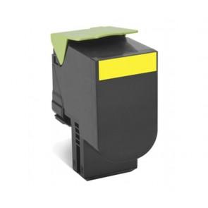 80C20Y0 Lézertoner CX410/510 nyomtatóhoz, LEXMARK, sárga, 3k (return)