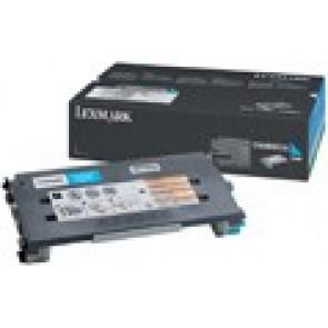 500H2CG Lézertoner Optra C500n, x50Xn nyomtatókhoz, LEXMARK kék, 3k