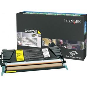 5220YS Lézertoner Optra C522, 524 nyomtatókhoz, LEXMARK, sárga, 3k (return)