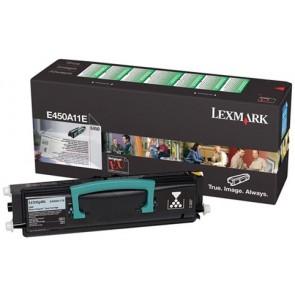 450A11E Lézertoner Optra E450d nyomtatóhoz, LEXMARK, fekete, 6k