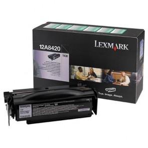 12A8420 Lézertoner Optra T430 nyomtatóhoz, LEXMARK fekete, 6k (return)