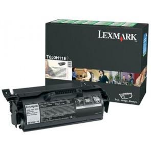 650H11E Lézertoner T650, 652, 654 nyomtatókhoz, LEXMARK fekete, 25k (return)