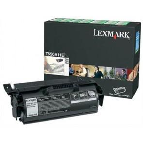 650A11E Lézertoner T650, 652, 654 nyomtatókhoz, LEXMARK fekete, 7k (return)