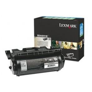 644H11E Lézertoner Optra X642e, 644, 646 nyomtatókhoz, LEXMARK fekete, 21k (return)