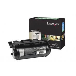 644A11E Lézertoner Optra X642e, 644, 646 nyomtatókhoz, LEXMARK fekete, 10k (return)