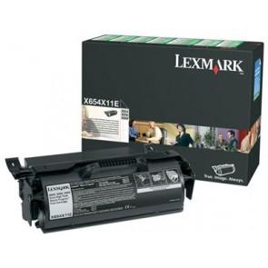 654X11E Lézertoner X654, 656, 658 nyomtatókhoz, LEXMARK fekete, 36k (return)