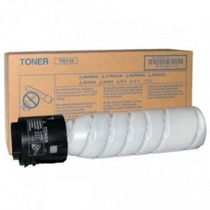 TN118 Fénymásolótoner Bizhub 215 fénymásolóhoz, KONICA-MINOLTA fekete 2*12K