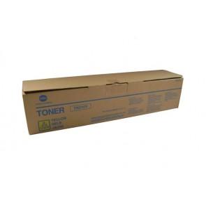 TN210Y Fénymásolótoner Bizhub C250, C252 fénymásolókhoz, KONICA-MINOLTA sárga, 12k