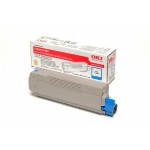 43324423 Lézertoner C5800, 5900 nyomtatókhoz, OKI kék, 5k