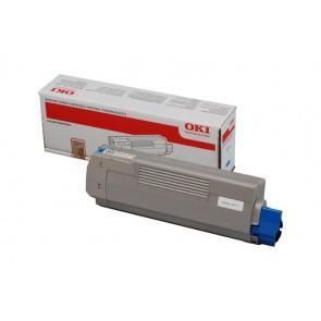 44315307 Lézertoner C610 nyomtatóhoz, OKI kék, 6k