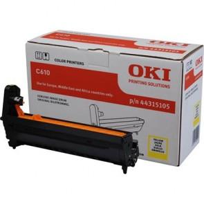 44315105 Dobegység C610 nyomtatóhoz, OKI sárga, 20k