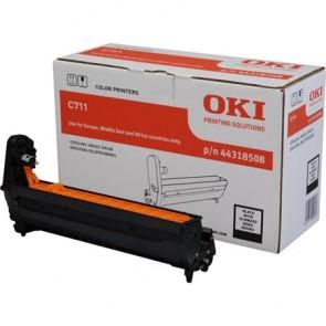 44318508 Dobegység C711 nyomtatóhoz, OKI, fekete, 20k