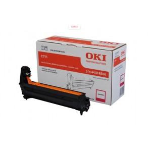 44318506 Dobegység C711 nyomtatóhoz, OKI, magenta, 20k