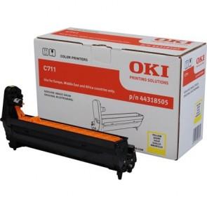 44318505 Dobegység C711 nyomtatóhoz, OKI sárga, 20k
