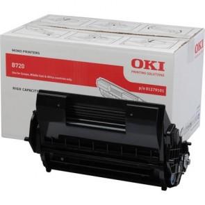 01279101 Lézertoner B720, B730 nyomtatókhoz, OKI fekete, 20k