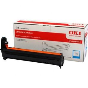 44064011 Dobegység C810, 830, MC860 nyomtatókhoz, OKI kék, 20k