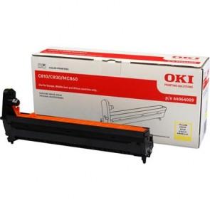 44064009 Dobegység C810, 830, MC860 nyomtatókhoz, OKI sárga, 20k