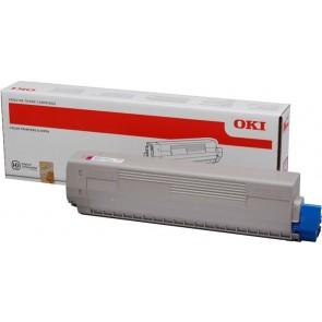 44844506 Lézertoner C831, 841 nyomtatókhoz, OKI, magenta, 10k