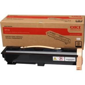 01221601 Lézertoner B930 nyomtatóhoz, OKI, fekete, 33k