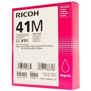 405763 Gélpatron SG 3100SNw, SG 7100DN nyomtatókhoz, RICOH Type GC41M, magenta, 2,2k