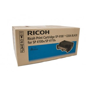 407649/407008 Lézertoner Aficio SP 4100N, SP 4110N, SP 4210N nyomtatókhoz, RICOH fekete, 15K