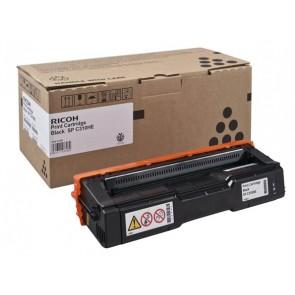 407634 Lézertoner Aficio SP C320DN nyomtatóhoz, RICOH fekete, 7,2K
