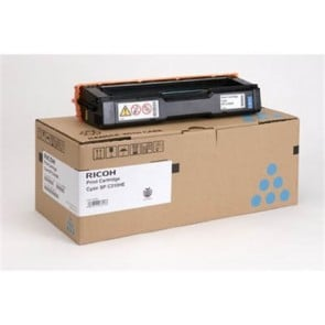 407637 Lézertoner Aficio SP C320DN nyomtatóhoz, RICOH kék, 6,6K