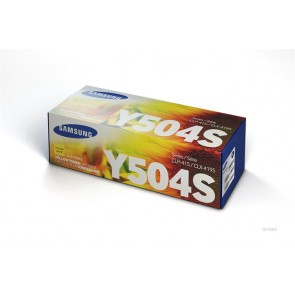 CLT-Y504S Lézertoner CLP 415, CLX 4195 nyomtatókhoz, SAMSUNG, sárga, 1,8k